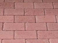 Red brick pavers