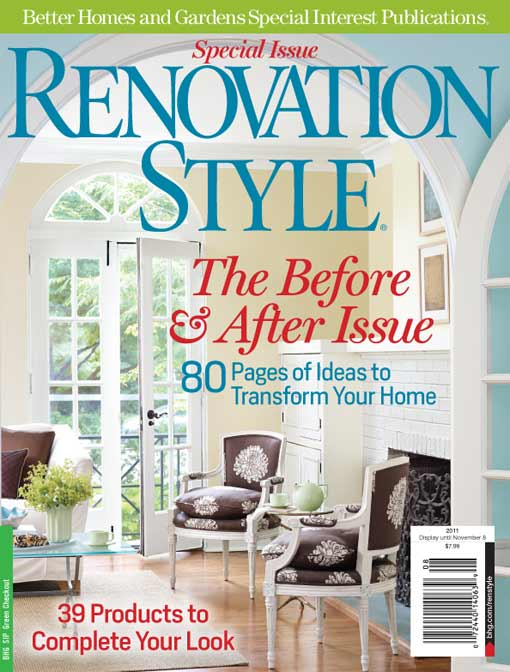 Cover of Renovation Style magazine Before & After Issue