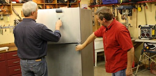 How To Refinish Appliances With Liquid Stainless Steel