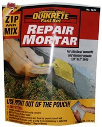 Bag of QUIKRETE® Zip & Mix Repair Mortar