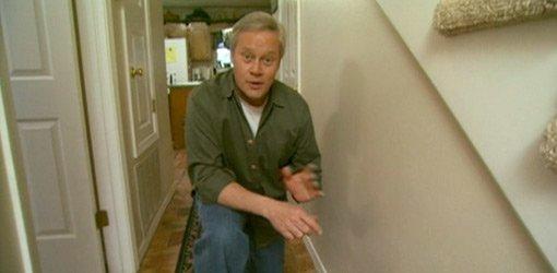 Danny Lipford in hallway