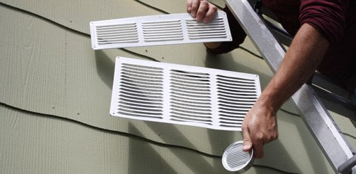 Garage Cooling Fans >> Adding Soffit and Ridge Vents to Your Attic | Today's Homeowner