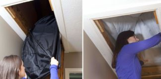 Installing an Attic Stairway Cover