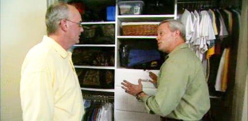 Danny Lipford exploring closet design