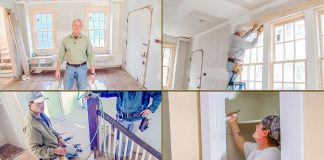 """""""Today's Homeowner"""" host Danny Lipford, seen in the Kuppersmith House in Mobile, Alabama, as it's under construction."""