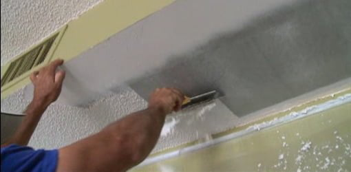 Tips for DIY Textured Popcorn Ceiling Removal | Today's