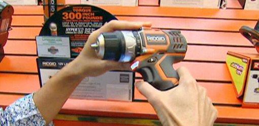 Ridgid Fuego Cordless Lithium-Ion Drill Driver