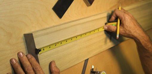 Measuring board