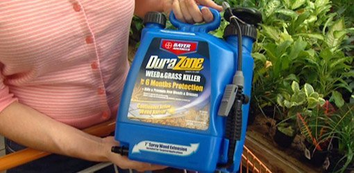 Container of DuraZone Weed and Grass Killer