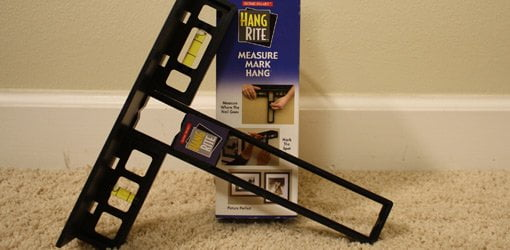 Hang Rite Picture Hanging Guide