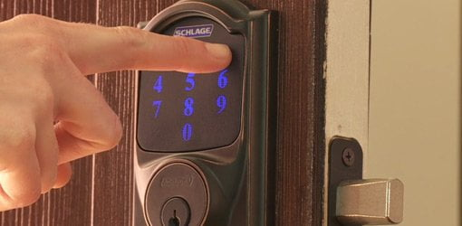 Fully Loaded Touchscreen Deadbolt from Schlage