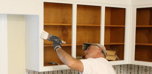 How to Paint Kitchen Cabinet Boxes | Today\'s Homeowner
