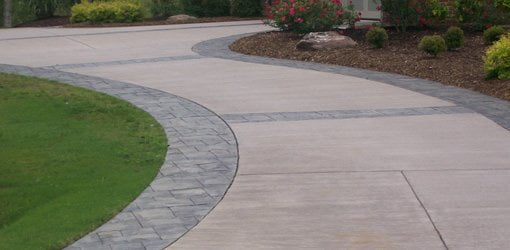 Driveway sealed with QUIKRETE® Sealing Products