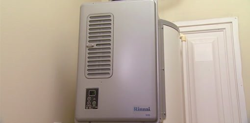 Rinnai Hybrid Tank Tankless Water Heater Today S Homeowner
