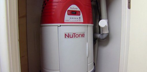 NuTone central vacuum systems for home.