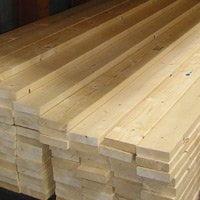 Lumber for floor joists.