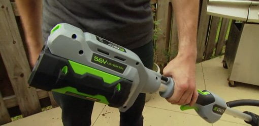EGO Power+ cordless string trimmer.