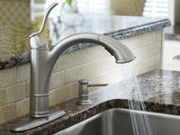 Moen Walden kitchen faucet.
