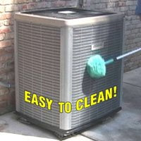 Kleen-Screen installed on AC Unit.