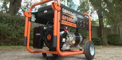 Generac portable generator.