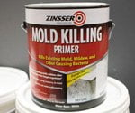 Can of Zinsser Mold Killing Primer.