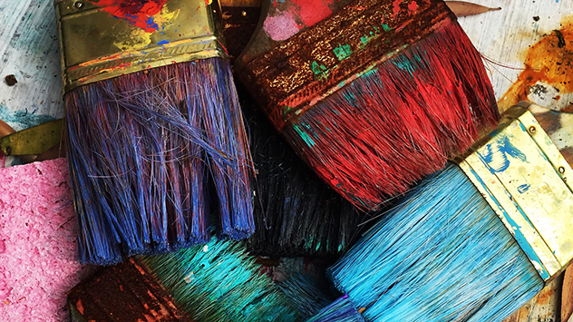 How To Clean Hardened Paintbrushes Naturally Today S