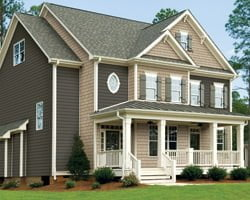House with Royal Estate vinyl siding.