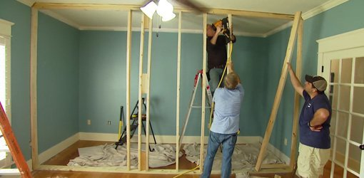Build A Non Load Bearing Interior Wall