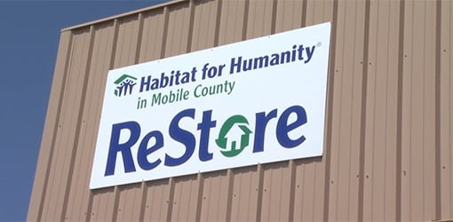 Habitat for Humanity ReStore sign