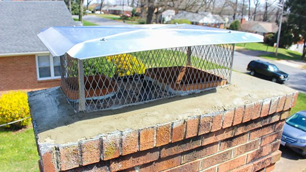 How To Install A Chimney Cap Today S Homeowner