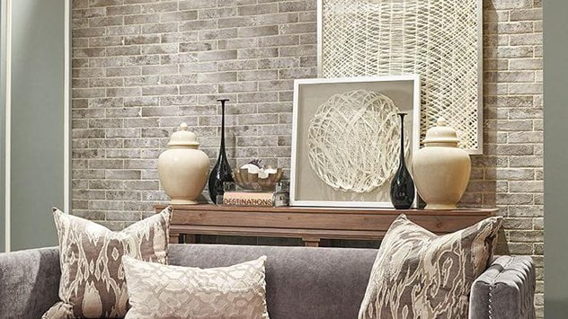 tile that mimics the look of brick.