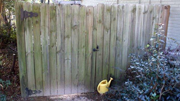 Gate kits make repairing a sagging gate a straightforward DIY project.