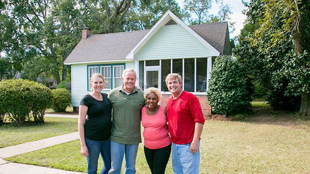 Homeowner with Danny, Allen and Chelsea