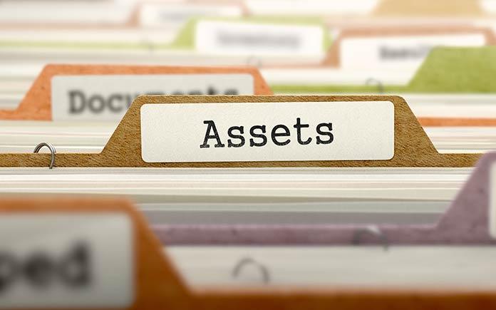 Folder labeled assets