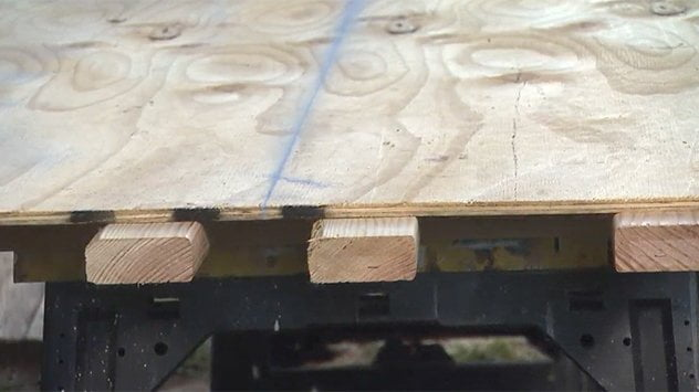 Tip for Cutting Sheets of Plywood | Today's Homeowner