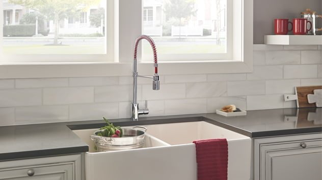 Danze Foodie Client Kitchen Faucet Featured at KBIS