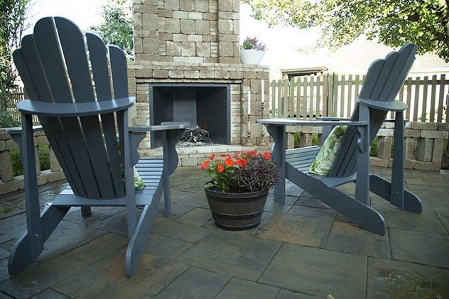 Backyard Paradise patio makeover