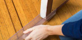 Installing the triple draft door seal