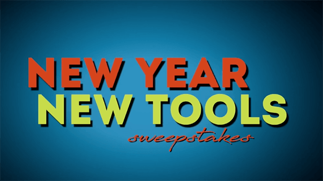 New Year, New Tools' Sweepstakes — Official Rules | Today's
