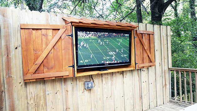 How To Build An Outdoor Tv Cabinet Today S Homeowner