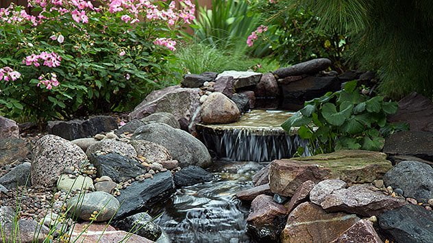Building A Backyard Waterfall