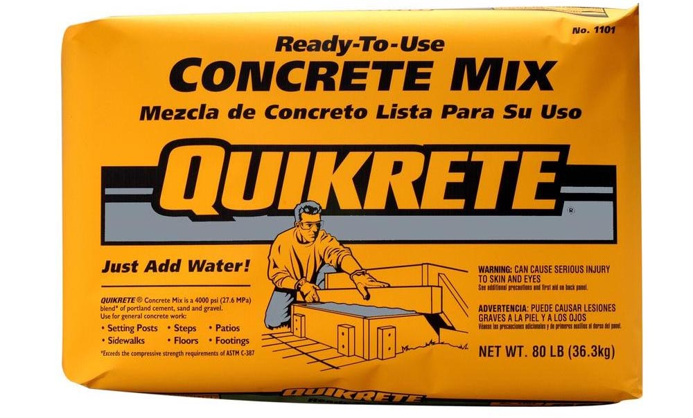 Standard concrete mix