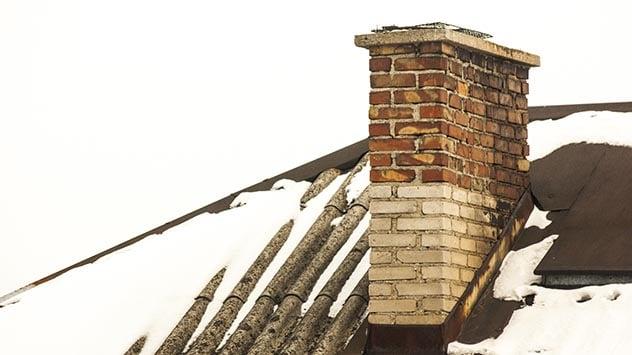 spalling chimney