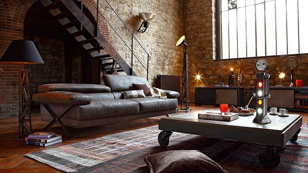 industrial design, living room