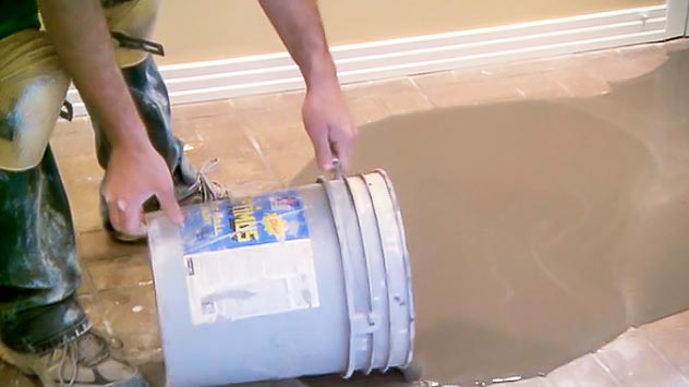 leveling a subfloor
