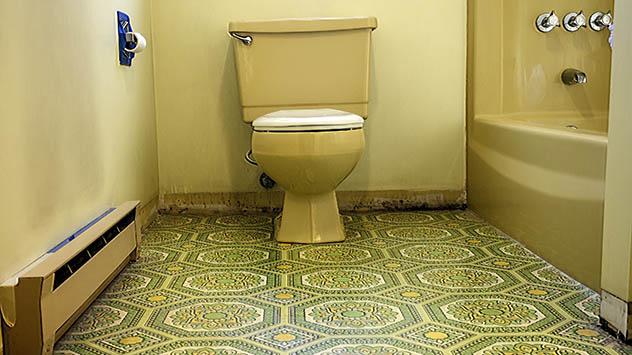 Gaudy Bathroom