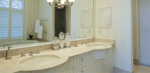 Material To Use For A Bathroom Vanity