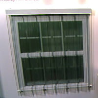 GE Lexan hurricane panels.