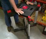 Husky X-Workhorse Portable Workbench