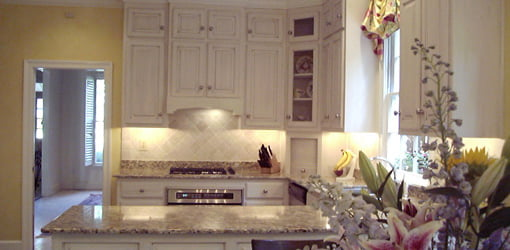 Completed kitchen remodel.